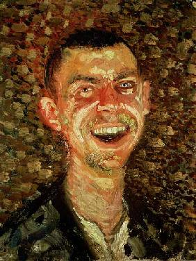 Self Portrait Laughing 1908