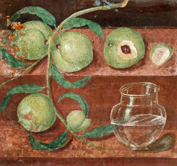 Still Life with Peaches, found at Herculaneum