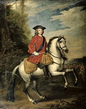Portrait of King George I