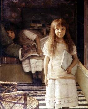 This is our Corner (Portrait of Anna and Laurense Alma-Tadema)