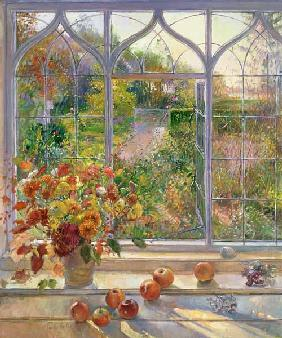 Autumn Windows, 1993 (oil on canvas)