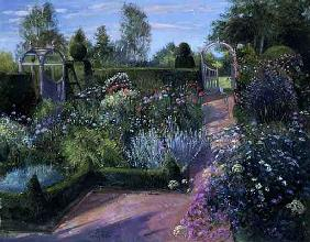 Two Gateways in the Herb Garden, 1995 (oil on canvas)