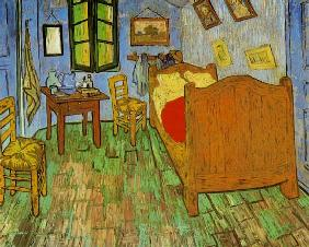 Vincents Schlafzimmer in Arles 1888