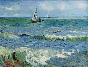 Sea at St.Maries /Ptg. 1888