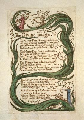 The Divine Image, from Songs of Innocence