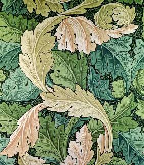 'Acanthus' wallpaper design, 1875 1893