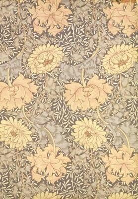 'Chrysanthemum' wallpaper design, 1876 1890