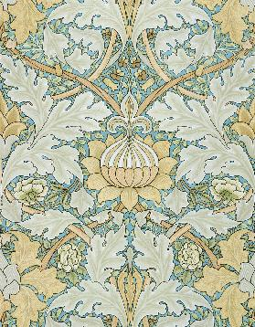 St James's wallpaper, design for St. James's Palace 1881